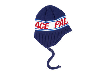 Palace Flap About Beanie Blue  (FW19)の写真
