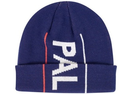 Palace One Up Beanie Navy  (FW19)の写真