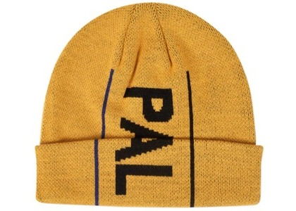 Palace One Up Beanie Yellow  (FW19)の写真