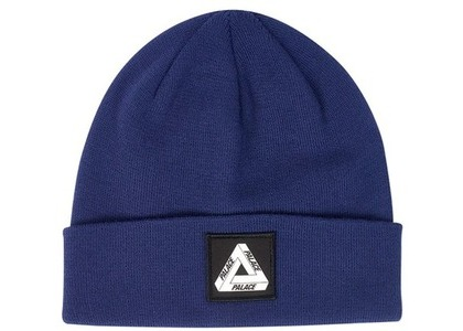Palace Patch Beanie Navy  (FW19)の写真