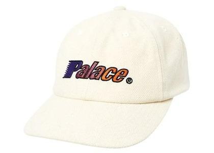 Palace Script Wool Pal Hat White  (FW19)の写真