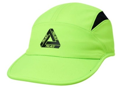 Palace Tri Cool Shell Running Hat Neon Green  (FW19)の写真