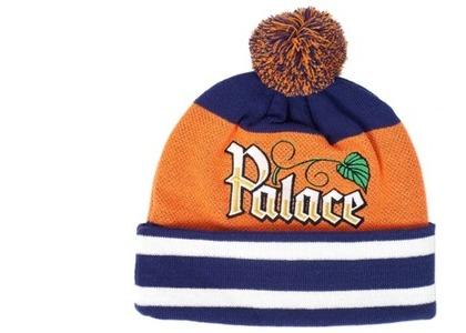 Palace Zero Zero Beanie Navy/Orange  (FW19)の写真