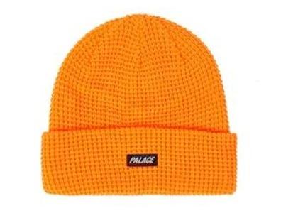 Palace R-Knit Beanie Orange  (FW19)の写真