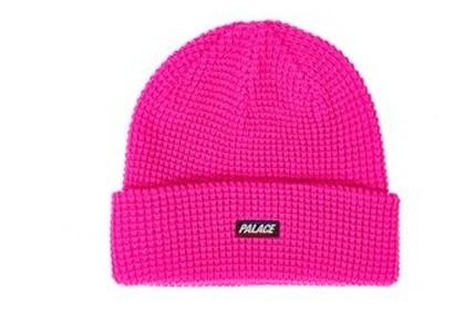 Palace R-Knit Beanie Pink  (FW19)の写真