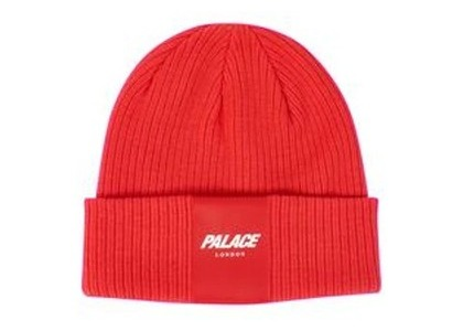 Palace R-Knit Beanie Red  (FW19)の写真