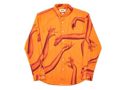 Palace Armless Shirt Orange  (FW19)の写真