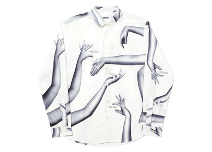 Palace Armless Shirt White  (FW19)の写真