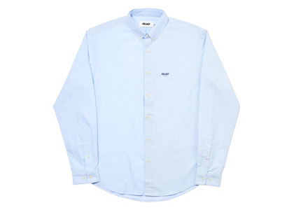 Palace Blender Shirt Blue  (FW19)の写真