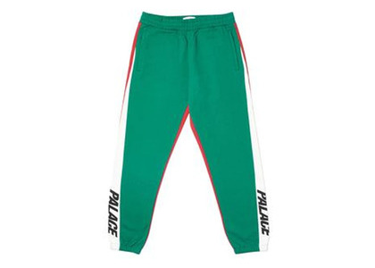 Palace Catch Up Joggers Green/White  (FW19)の写真