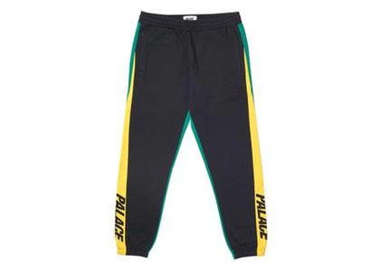 Palace Catch Up Joggers Yellow/Green  (FW19)の写真