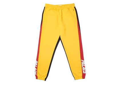 Palace Catch Up Joggers Yellow/Red  (FW19)の写真