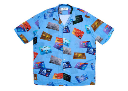 Palace Contactless Shirt Blue  (FW19)の写真