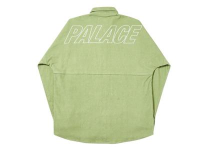 Palace Drop-Cord Shirt Green  (FW19)の写真
