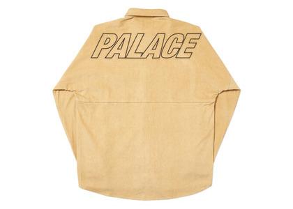 Palace Drop-Cord Shirt Tan  (FW19)の写真