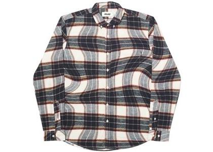 Palace Lumber Waved Shirt Black/White  (FW19)の写真