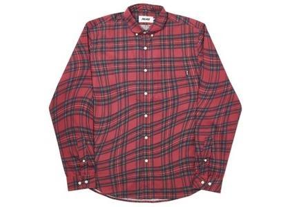 Palace Lumber Waved Shirt Red  (FW19)の写真