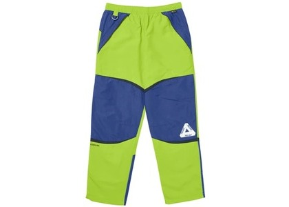 Palace P-Dura Shell Bottoms Lime/Navy/Black  (FW19)の写真