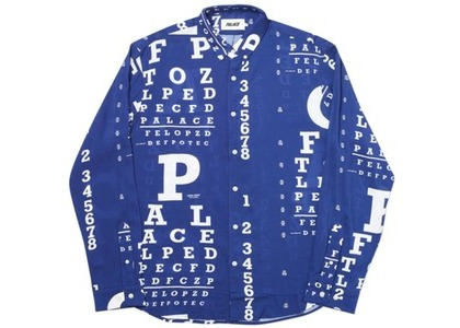 Palace Specsaver Shirt Blue  (FW19)の写真