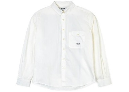 Palace x Dover Street Market Special Boojie Pocket Shirt White  (FW19)の写真