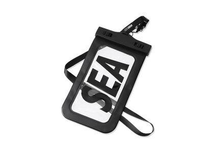 WIND AND SEA Sea Waterproof Mobile Strap Case Blackの写真