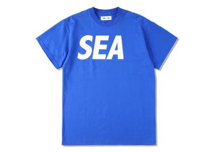 WIND AND SEA Sea S/S T-Shirt Blue Whiteの写真