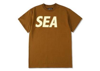 WIND AND SEA Sea S/S T-Shirt Brown Beigeの写真
