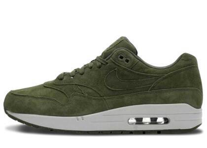 Nike Air Max 1 Olive Canvas Suedeの写真
