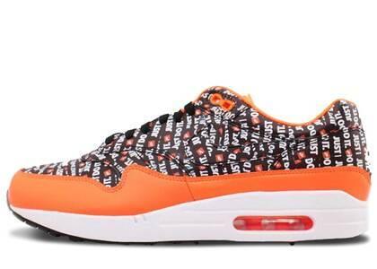 Nike Air Max 1 Just Do It Pack Black Orangeの写真
