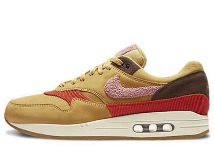 Nike Air Max 1 Crepe Wheat Gold Rust Pinkの写真