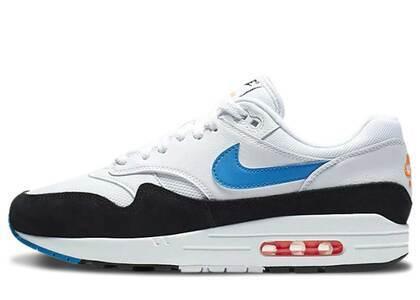 Nike Air Max 1 White Photo Blue Blackの写真