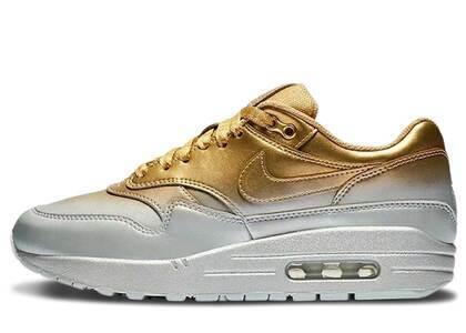 Nike Air Max 1 LX Metallic Gold Metallic Platinum Womensの写真