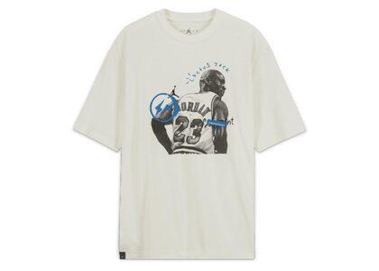 Jordan × Travis Scott × fragment Short Sleeve T-Shirt Whiteの写真