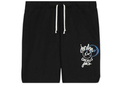 Jordan × Travis Scott × fragment short Pants Blackの写真
