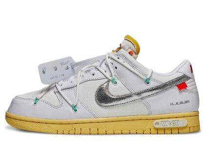 Off-White × Nike Dunk Low The 50 Collection 50 of 1の写真