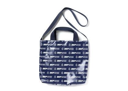 The Black Eye Patch Genuine Product PVC Shoulder Bag Navy (SS21)の写真