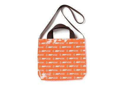 The Black Eye Patch Genuine Product PVC Shoulder Bag Orange (SS21)の写真