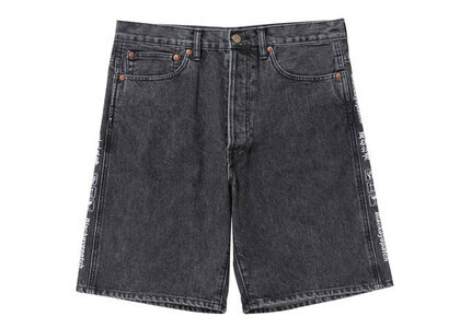 The Black Eye Patch Handle With Care Denim Shorts Black (SS21)の写真