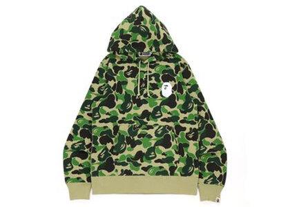 Bape Big ABC Camo Ape Head Pullover Hoodie Green (SS21)の写真