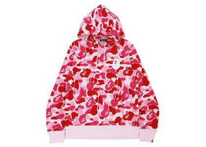 Bape Big ABC Camo Ape Head Pullover Hoodie Pink (SS21)の写真
