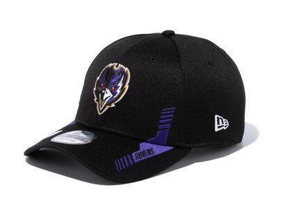New Era 39THIRTY 2021 NFL Sideline Sideline Baltimore Ravens Blackの写真