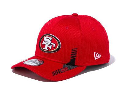 New Era 39THIRTY 2021 NFL Sideline Sideline San Francisco 49ers Redの写真