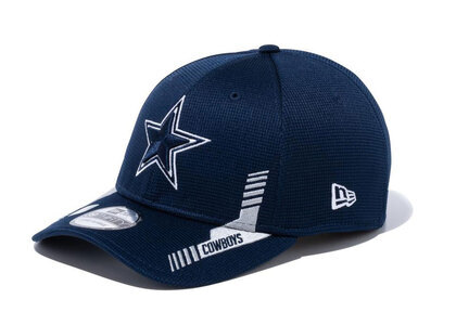 New Era 39THIRTY 2021 NFL Sideline Sideline Dallas Cowboys Navyの写真