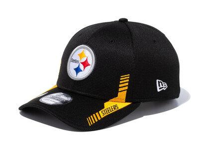 New Era 39THIRTY 2021 NFL Sideline Sideline Pittsburgh Steelers Blackの写真
