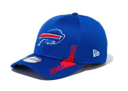 New Era 39THIRTY 2021 NFL Sideline Sideline Buffalo Bills Blueの写真