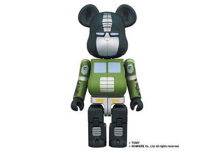 Be@rbrick × Transformers Optimus Prime Bape Greenの写真