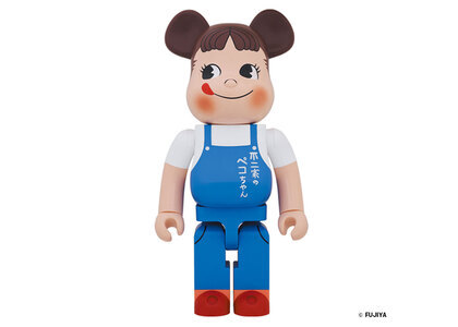 Be@rbrick Peko-chan The overalls girl 1000%の写真