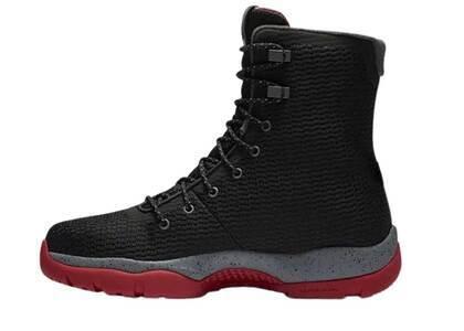 Nike Air Jordan Future Boot Black Grey Redの写真