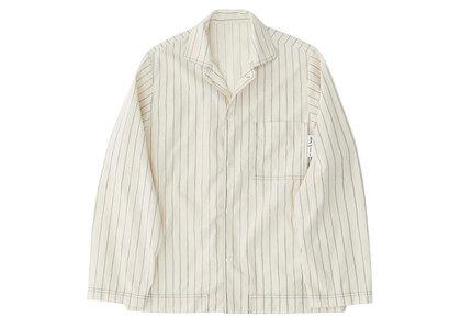 Stussy Tekla Poplin Pyjama Shirt Hand Drawn Stripes (SS21)の写真