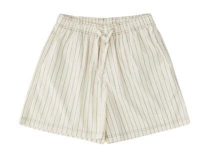 Stussy Tekla Poplin Pyjama Shorts Hand Drawn Stripes (SS21)の写真